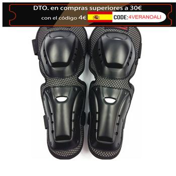 Ochraniacz na kolano motocyklowe ochraniacze na łokcie ochraniacze na narty Mtb sprzęt Motocross do jazdy na wrotkach na kolano hokej ochraniacze na ochraniacze tanie i dobre opinie CN (pochodzenie) knee pads black