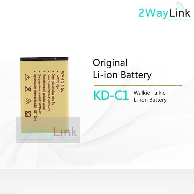 KB 5C 1000mAh Li ion Battery for WLN Walkie Talkie KD C1 KD C2 KD C10 KD C50 KD C51 KD C52 Compatible with RT22 X6 Radios