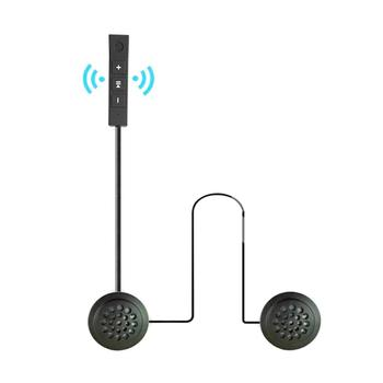 Motorcycle Helmet Bluetooth Headset, High-fidelity Microphone, Ultra-long Standby Bluetooth 4.1 Stereo Headset