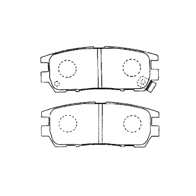 AKEBONO pads brake disc rear FIT FOR MITSUBISHI PAJERO II AN-366WK лампочка loft it 1003 c