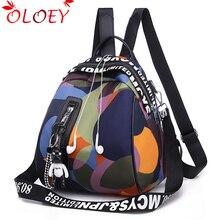2020 nowe panie wisiorek z misiem wielofunkcyjny plecak wysokiej jakości młodzieży kolor plecak dziewczyna dorywczo pojemne torby dla kobiet