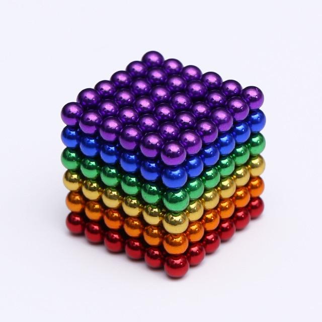 2019 216Pcs/set 3mm Magic Magnet PUZZLE Cube Magnetic Blocks Balls NEO Sphere Beads Building Toys DIY D3 Sphere Neodymium 1