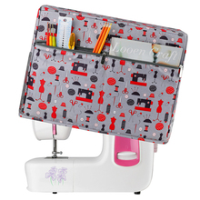 Portable Sewing-Machine-Accessories 1-Pc Dust-Cover Cloth Protective Oxford Solid Cute