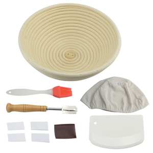 Baking-Tool-Set Dough Fermentation Rattan-Basket Banneton Bread-Proofing Handmade Proving