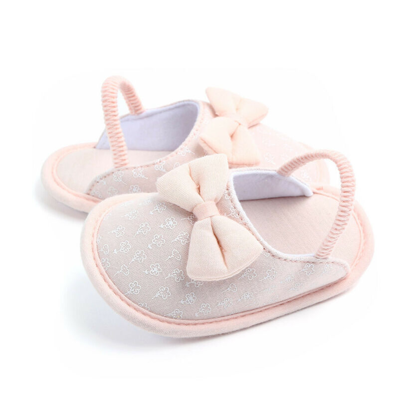 Unisex Infant Newborn Baby Slippers Kids Anti Slip Slipper Shoes