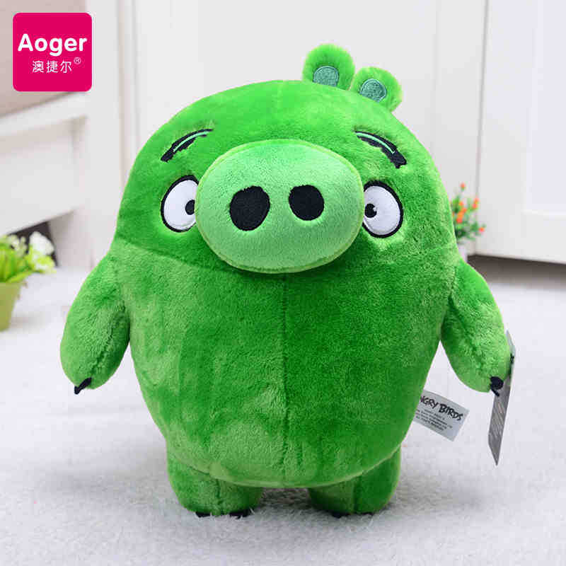 Genuine Movie The Angry Cute Birds Plush Toys  Soft Stuffed Red Bomb Chuck Leonard Figures Pillow Kawaii Gift For Kids