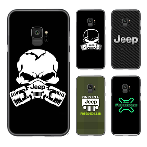 Jeep car Phone Case Cover For Samsung Galaxy A10 A20 A30 E A40 A50 A51 A70 A71 J 5 6 7 8 S black hoesjes painting waterproof