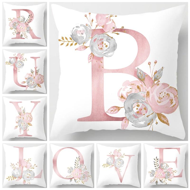 Чехол на подушку с розовым цветком розы, украшение для свадьбы в деревенском стиле, принадлежности для свадебной вечеринки, свадебный подар...