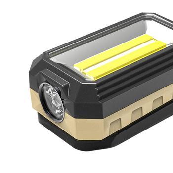 Przenośne światło zewnętrzne Led oświetlenie kempingowe Super jasne silne światło oświetlenie bezpieczeństwa wielofunkcyjne wodoodporne narzędzia zewnętrzne tanie i dobre opinie CN (pochodzenie) Kieszeń Multi Tools W559 XPE + Double COB 4-6 hours USB charging Life Waterproof 206G (including battery)