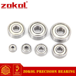 ZOKOL 10PCS 603-699 Miniature Deep Groove Ball Bearing 604 605 606 608 623 624 626 628 686 687 688 692 697 696 ZZ 2RS bearings