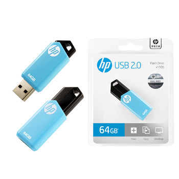 Original HP USB 2.0 Flash Disk 64GB USB Flash Drive 16GB USB 2.0 Memory Stick Pendrive v150