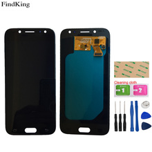 TFT OLED 5.2'' Mobile LCD Display For SAMSUNG Galaxy J5 PRO 2017 J530 J530F LCD Display Assembly Touch Screen Digitizer Tools