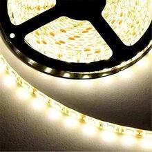Bande lumineuse à 60LED 2835 par mètre, meilleur éclairage que les anciennes LED SMD 3528, 5630 et 5050, luminaire décoratif, 5 mètres par rouleau, 12V