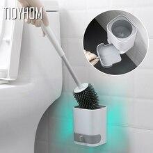Toilet-Brush Bathroom-Supplies Silicone Wash TPR The No Artifact Soft-Hair No-Dead-Corner