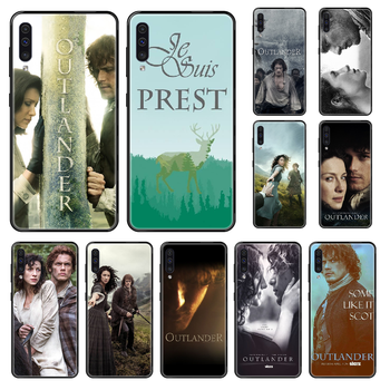 Tv Outlander Phone case For Samsung Galaxy A 3 5 8 9 10 20 30 40 50 70 E S Plus 2016 2017 2018 2019 black soft funda painting image
