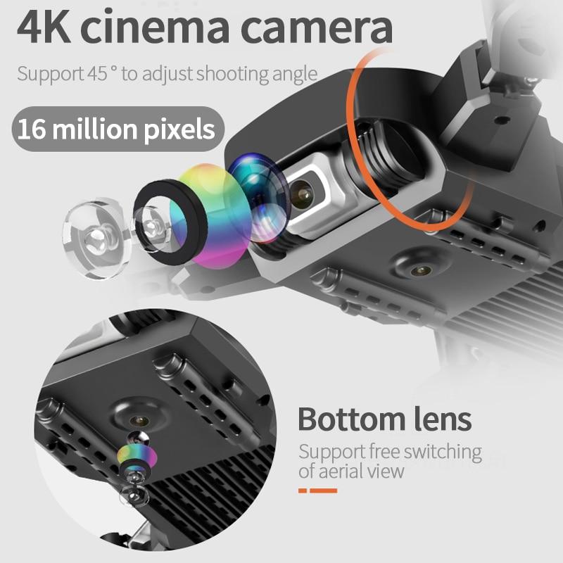 Dron profesional 4k con cámara gran angular HD, 2020 P, WiFi, fpv, cámara Dual, mantener la altura, helicóptero, 1080