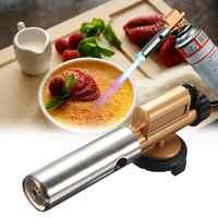 Portable Gas Torch Jet Flame Maker Lighter Gun Butane Weld Burner for Picnic BBQ  Wholesale&DropShip