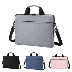 Waterproof Laptop Bag 13 14 15 Inch Notebook Briefcase Cover For Macbook Air Pro Laptop Case Mobile Computer Accessory Handbag