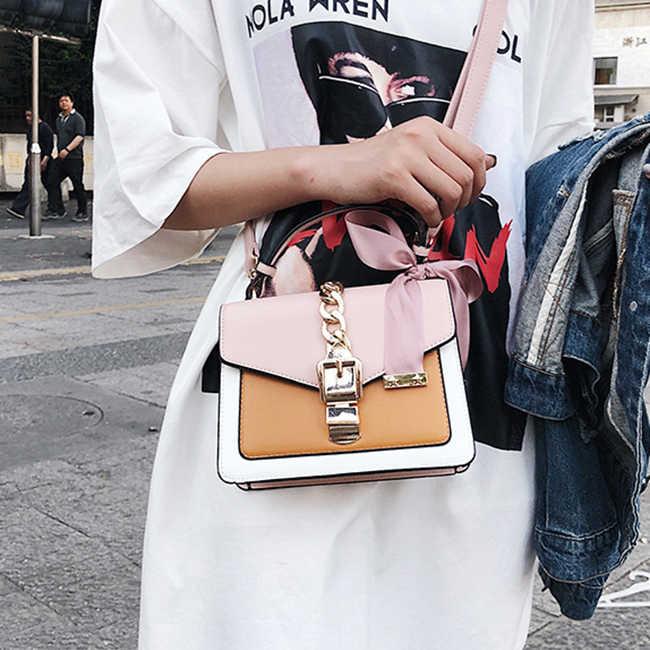 2019 נשים תיק האופנה שליח שקיות מיני קטן כיכר כתף תיק Crossbody תיק מצמד תיקים