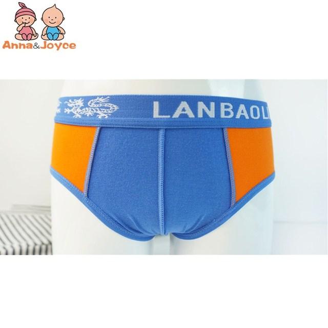 3pc Boys Cartoon Printing Cotton Briefs Children's Underwear Soft Comfortable Three Yards 3 To 12years 2