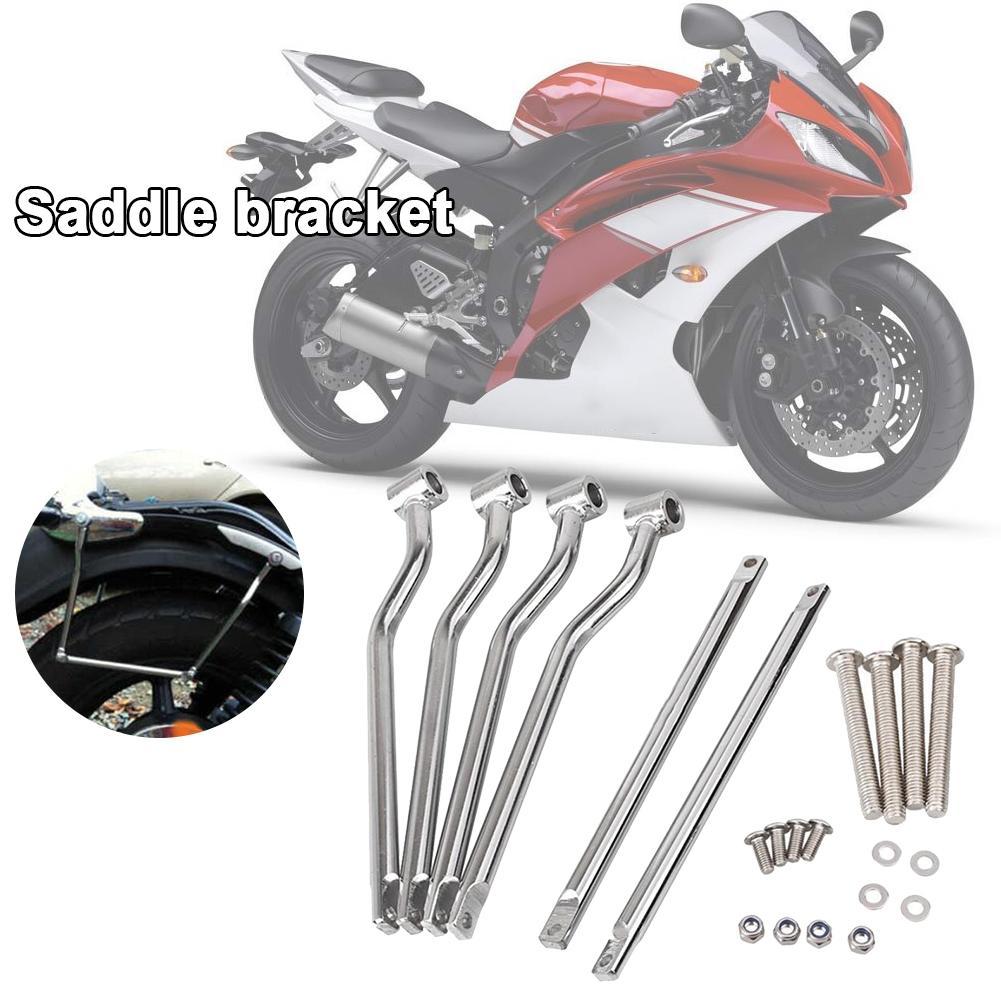 Motorcycle 15cm Saddle bag Support Bar Mount Bracket For Kawasaki Vulcan 800