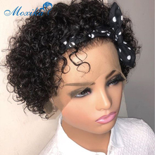Curly Bob Wig Lace Front Wig Short Bob Pixie Cut Wig Curly Human Hair Wig Malaysian Remy 4x4 Closure Lace Front Human Hair Wigs