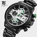 Розовое золото черный кварцевый хронограф T5 мужские часы водонепроницаемые мужские s часы лучший бренд класса люкс спортивные мужские нару...