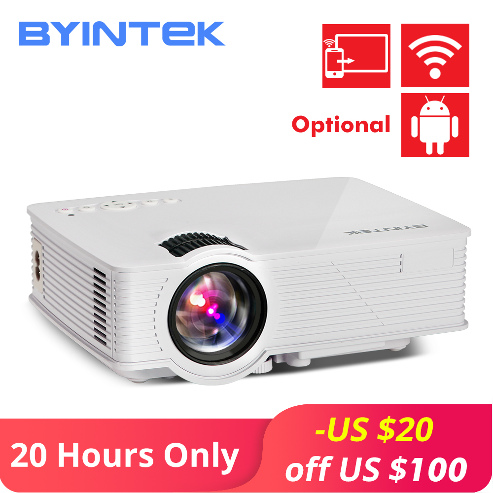 BYINTEK SKY BT140 Mini LED Portable Video HD Projector for Home Theater