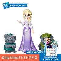 Hasbro Disney princess Frozen Elsa Anna Small Present set of Disney Frozen Little Dolls as holiday birthday gift the 2 Movie