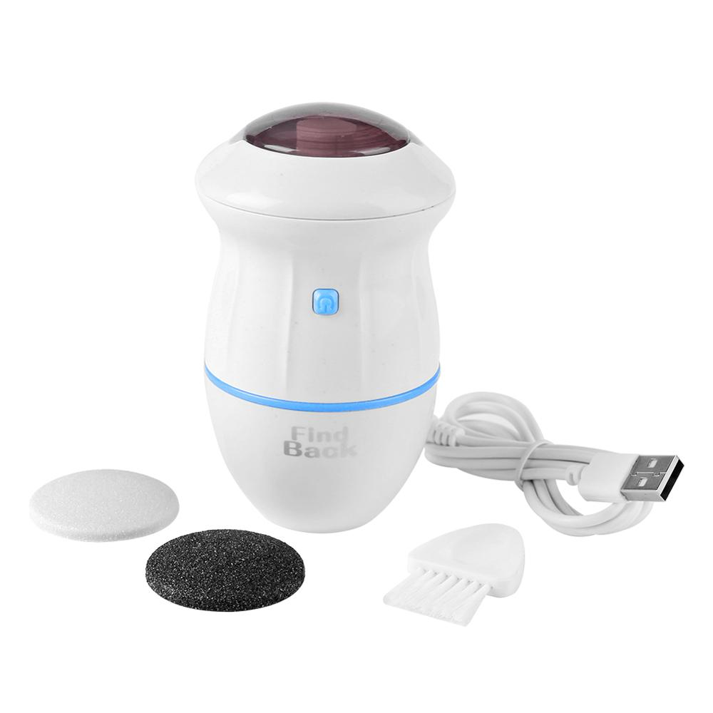 Newest Electric Foot Grinder Vacuum Dead Skin Callus Remover Hard Cracked Skin Files Pedicure Feet Care Foot Files Clean Machine