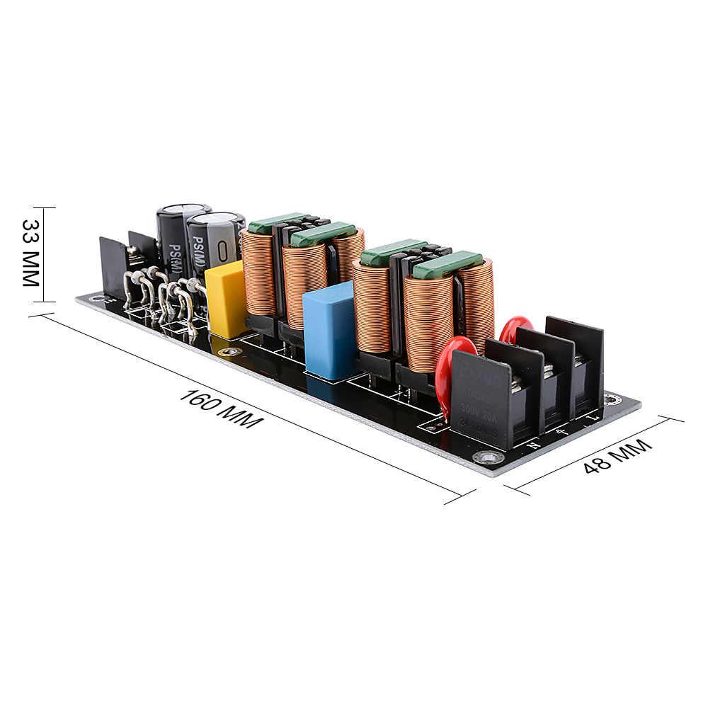 AIYIMA 2000W EMI filtr zasilania moduł AC110V-265V wysokiej wydajności filtr zasilania DC DIY Audio dźwięk wzmacniacze domowe