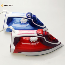 Steam Iron Handheld Adjustable Multifunction Portable Iron Machine Household Ceramic Soleplate Electric Steam Iron For Clothes