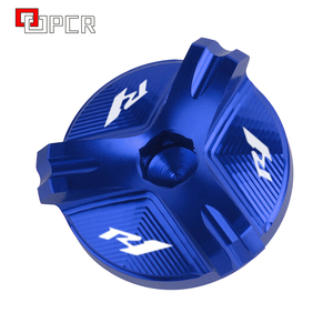 Image 4 - Motorcycle Cnc Aluminium Olievuldop Plug Cover Voor Yamaha R1 YZF R1 1998 2020 2019 2018 2017 2016