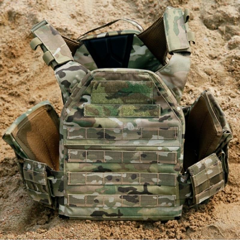 Colete de Combate Tático Camuflagem Multifuncional cs