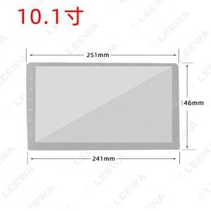 "Image 5 - LEEWA Auto Audio Radio 9 ""/10.1"" Big Screen 2DIN Fascia Rahmen Adapter Für LAND CRUISER 100 DVD player Dash Montage Panel Rahmen Kit"