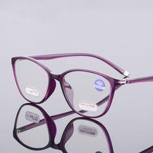 Очки tr90 для чтения женские очки дальнозоркости с защитой от