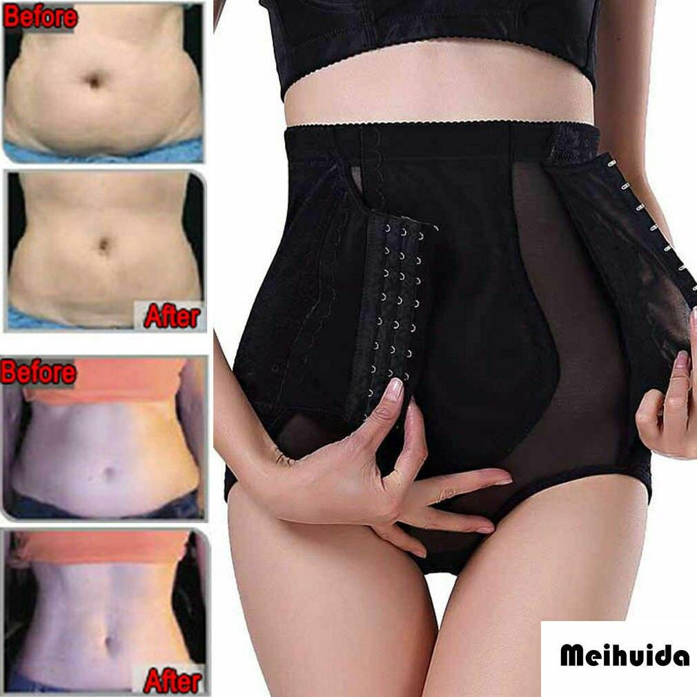 Women's High Waist Boned Extra Firm Tummy Control Panties Body Shaper Shapewear Shaper Control Tummy Slim Panty Corset