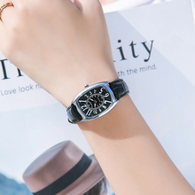 цена на Kezzi Watch For Women Brand Vintage Wristwatch Leather Watches Ladies Retro Square Quartz Watch Waterproof Relogio Feminino