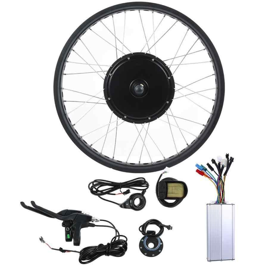 36V 48V 72V 500-3000W Kit de Conversion de vélo électrique e-bike contrôleur moteur 26 pouces roue LCD5 mètre doigt poignée e-bike pièces