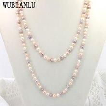 Wubianlu Новый 2 вида стилей размером 7 8 мм многоцветный пресноводный