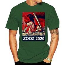 2020 футболка zooz leo p труба барабан саксофон группа большой
