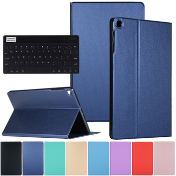 Case For Samsung Galaxy Tab A 10.1 inch T510 T515 2019 Tablet Flip Cover Folio Case With Wireless Keyboard SM-T510 SM-T515 tablet case for samsung galaxy tab a 10 1 inch 2019 t510 fundas shockproof eva safe kids cover for sm t510 t515 protective case