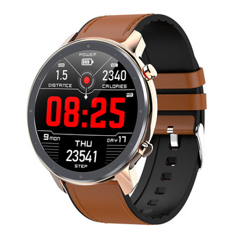 L11 Smart Watch Men Full Round Touch Screen ECG Heart Rate Weather Display IP68 Women Smartwatch Android IOS VS L8 DT78