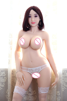 160cm 57#  Silicone doll  Realistic Breasts Vaginal Ass Pussy Sex Products Sex Dolls Adult Toy Japanese oral love doll for men