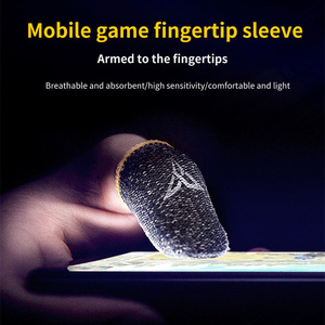 Image 5 - قفازات واقية لعرق الألعاب ، أكمام الأصابع ، للهاتف ، ألعاب PUBG وغيرها من شاشة اللمس الاحترافية