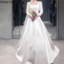Богемное свадебное платье es 2020 цвета слоновой кости ТРАПЕЦИЕВИДНОЕ