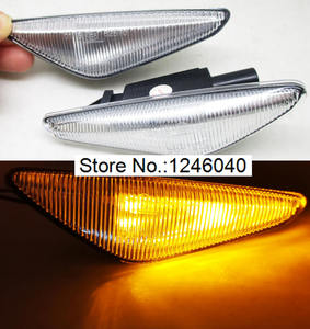 Image 3 - 2PCS LED Dynamic Side Marker Turn signal repeater light indicator Flowing Flash fit for BMW X3 X5 X6 E70 E71 2008 2014 E72 F25