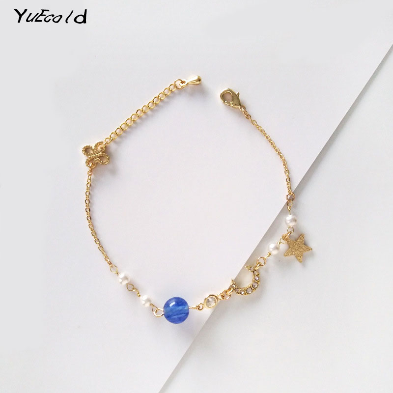 Starry Sky Pendant Friendship Bracelets
