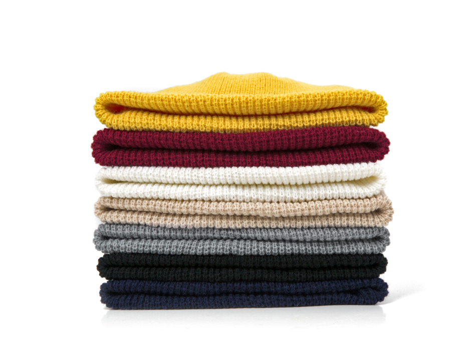 2021 Fashion Unisex Winter Hat Men Cuffed Cib Knit Hat Short Melon Ski Beanies Autumn Winter Solid Color Casual Beanie Hat 27