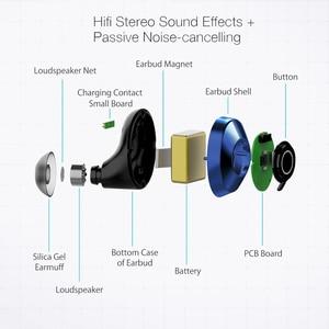 Image 3 - BlitzWolf BW FYE5 bluetooth 5.0 TWS True Wireless 이어폰 헤드폰 포켓 사이즈 스포츠 이어폰 HiFi베이스 스테레오 사운드 품질 헤드셋 이어 버드 패시브 노이즈 캔슬링 배터리 배터리 이어폰
